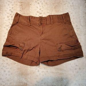 Calvin Klein Jeans Brown Khaki Cargo Shorts Size 8